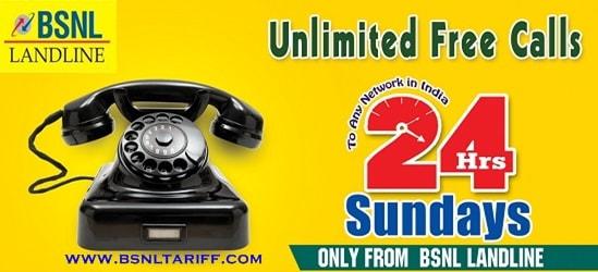 BSNL Landline Offers discount
