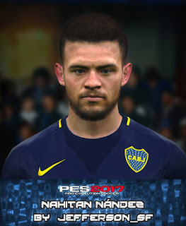 PES 2017 Faces Nahitan Nández by FaceEditor Jefferson_SF