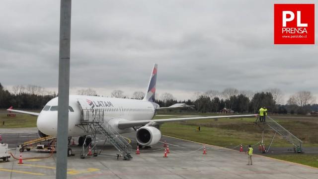 Osorno: Accidente retrasó vuelo en Aeródromo Cañal Bajo
