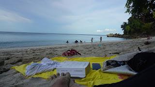Enjoy the view at the Freddies Sumutiga shore