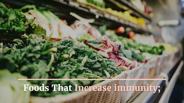 Foods That Increase immunity