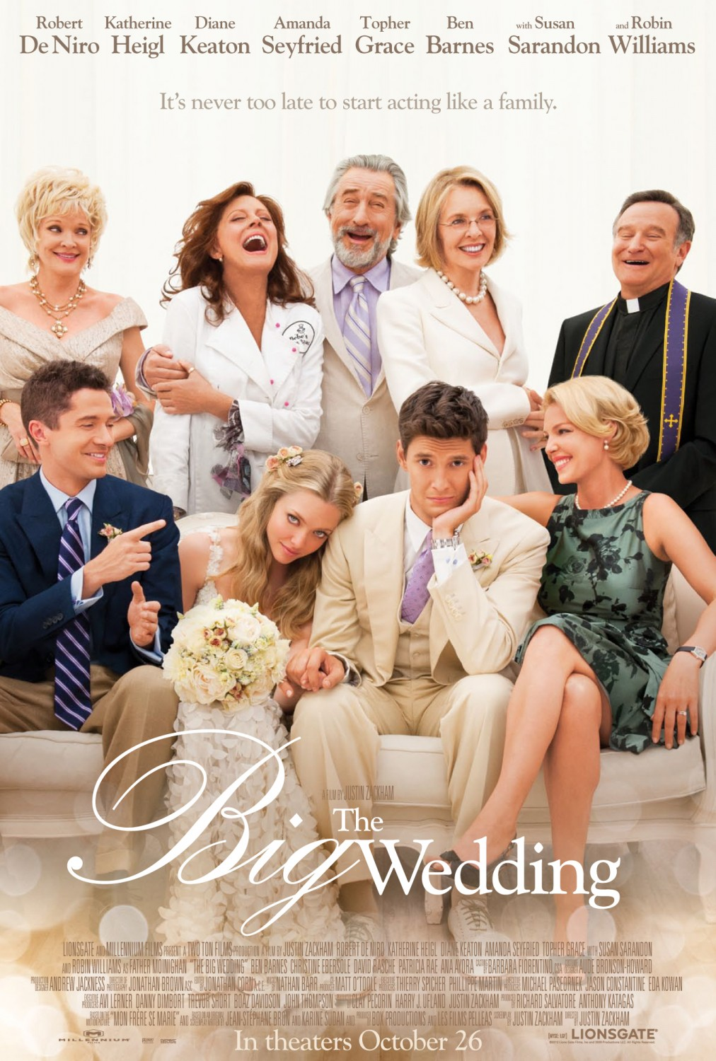 Nonton Film The Big Wedding (2013)