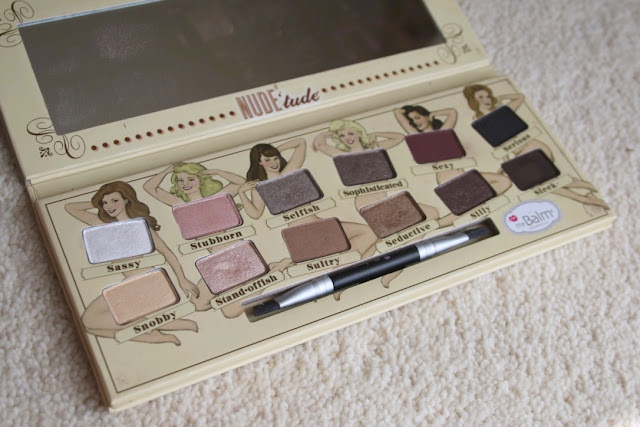 theBalm Nude'tude vs Nude Dude Eyeshadow Palettes Review
