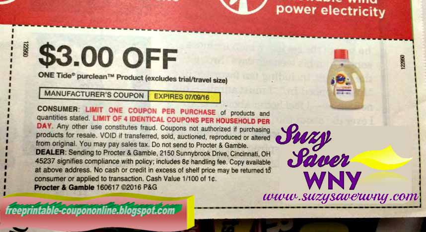 Printable tide coupons 2019
