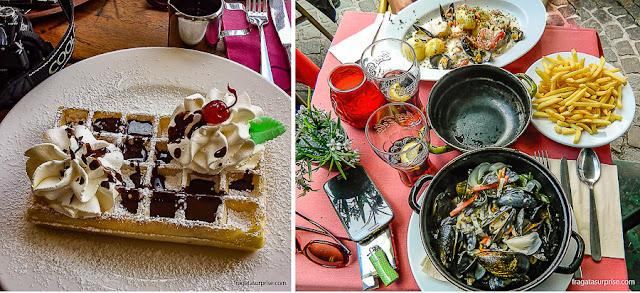 Pratos típicos da Bélgica
