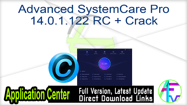 Advanced SystemCare Pro 14.0.1.122 RC + Crack