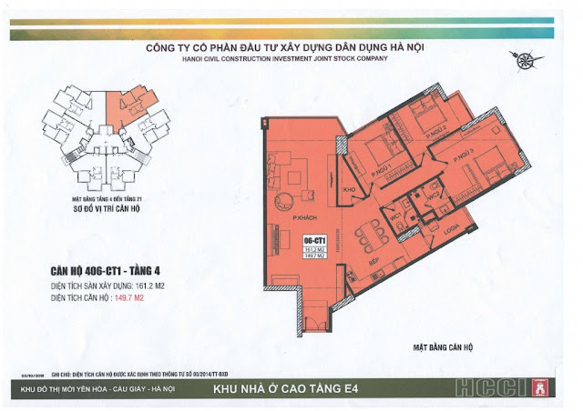 thiết kế căn số 6 tòa ct1 chung cư e4 yên hòa