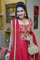 Jenny Honey in Stunning Dark Red Anarkali Dress at Splurge   Divalicious curtain raiser ~ Exclusive Celebrities Galleries 020.JPG