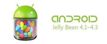 Android versi 4.1-4.3.1 (Jelly Bean)