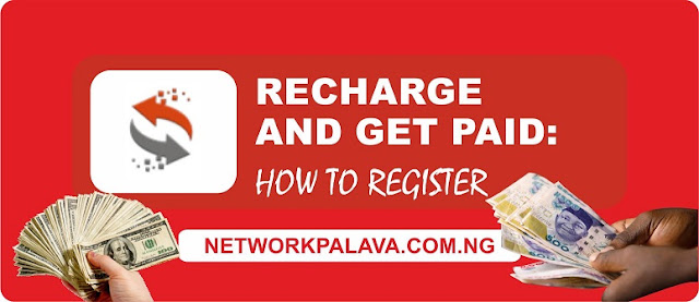 recharge and get paid registration