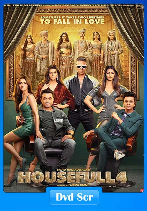 Housefull 4 2019 Hindi 720p PreDVDRip x264 | 480p 300MB | 100MB HEVC