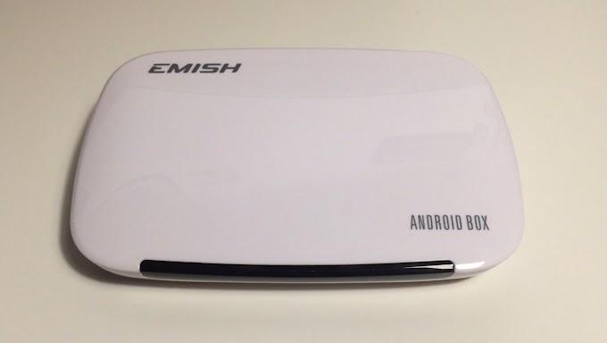 Emish Smart TV Box : un petit boîtier aux nombreuses fonctions