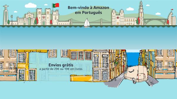 Como configurar a Amazon corretamente para nós portugueses