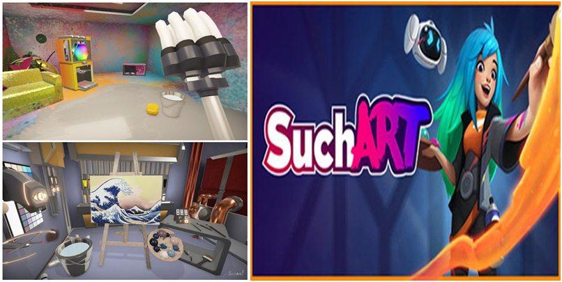 تحميل لعبة SuchArt Genius Artist Simulator