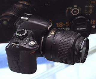 Kamera DSLR Nikon D3100 Fullset di Malang