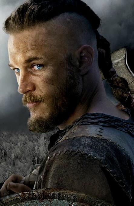 Poster - Travis Fimmel în serialul Vikingii