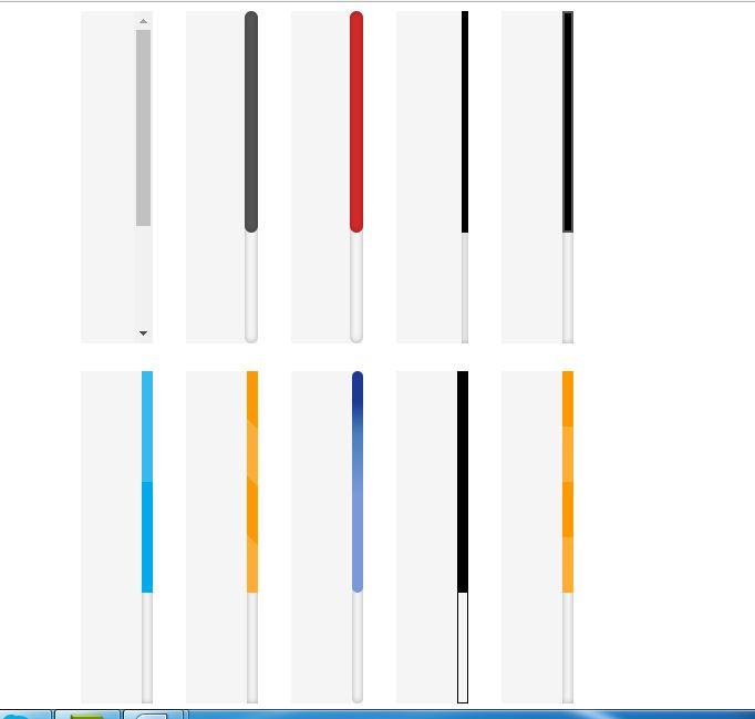 Hemant vishwakarma customizing browser scroll bar design - Css for scrollbar in div ...