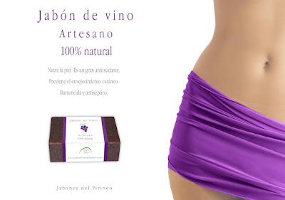 Jabón Natural de Vino