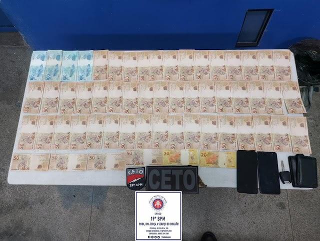 Trio é preso em Jequié com R$ 3 mil em notas falsas