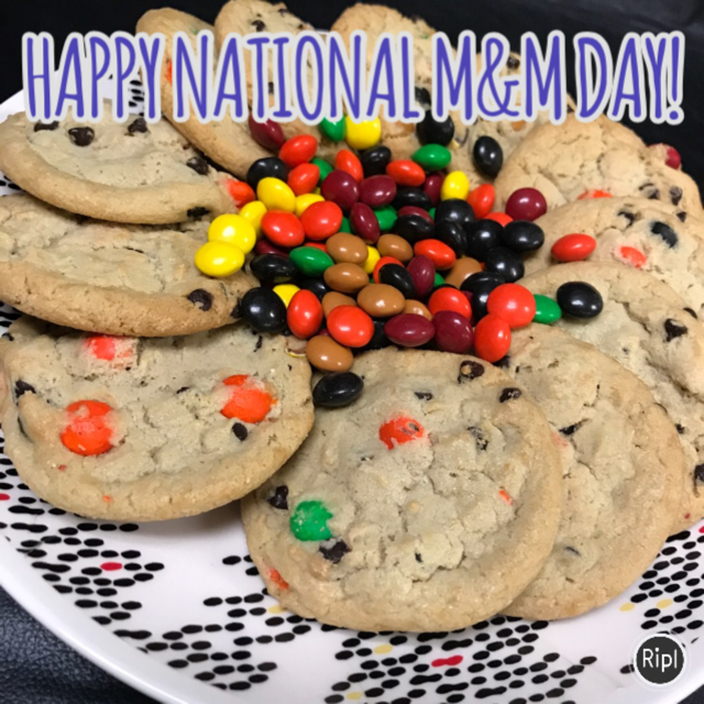 National M&M Day Wishes Images download