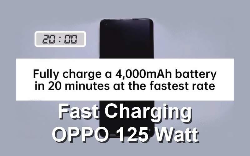 Fast Charging OPPO 125 Watt 100 Persen Full Selama 20 Menit (twitter.com)