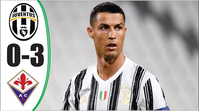 Juventus Dibantai Fiorentina.