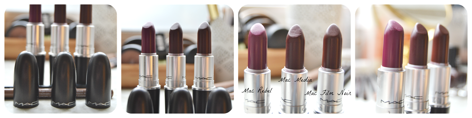 swatch mac cosmetics rebel media film noir