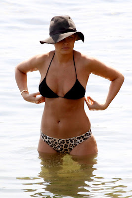 Lara Bingle Busty Bikini Photos