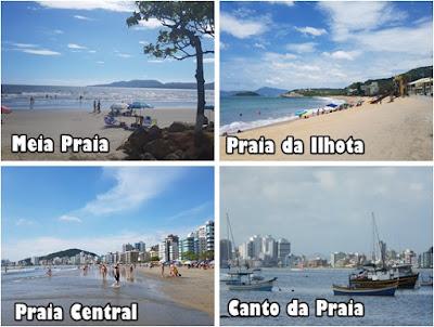 Conheça as praias de Itapema