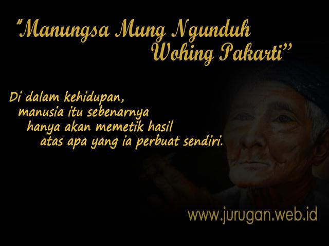 Makna Ajaran Hidup Orang Jawa