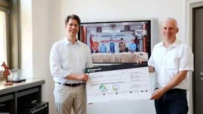 Jerman Bantu 10 Ribu Euro untuk Penanganan Batang Arau Padang