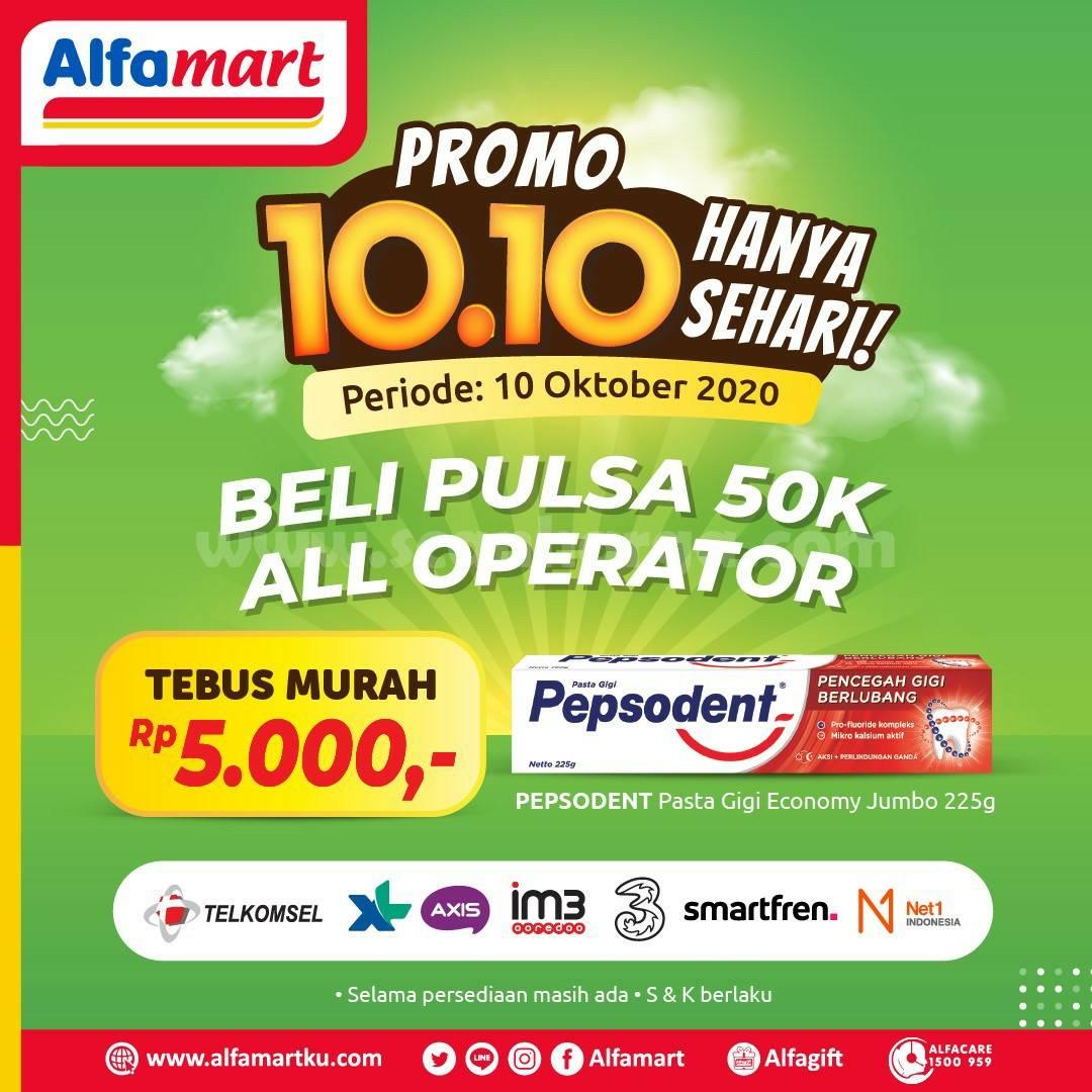 ALFAMART Promo 10.10 Hanya Sehari Periode 10 Oktober 2020