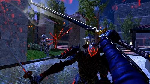 Sairento VR Gameplay