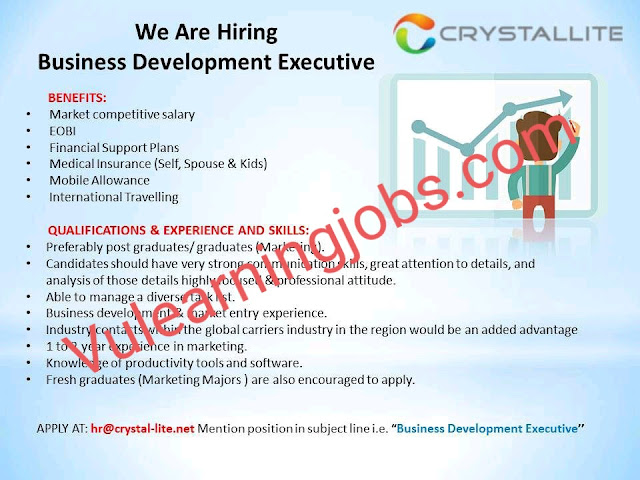Crystallite PVT Limited Jobs 2020 For Business Development Executive Latest