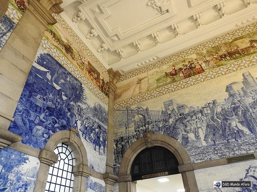 Destalhe da Estação São Bento - O que fazer no Porto, Portugal