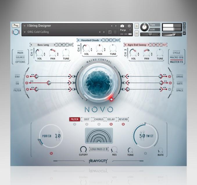 Heavyocity announced Novo Modern Strings Sample Library for
