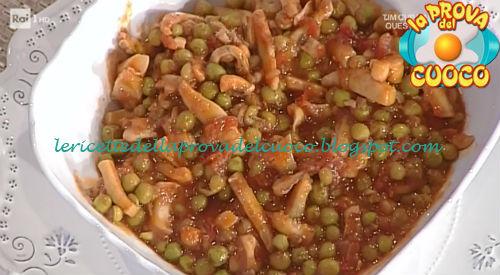 Seppie con i piselli ricetta Moroni da Prova del Cuoco