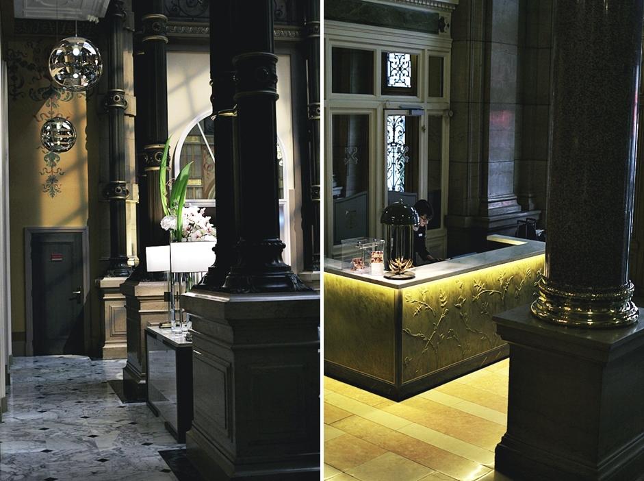 hilton paris opera lobby concierge