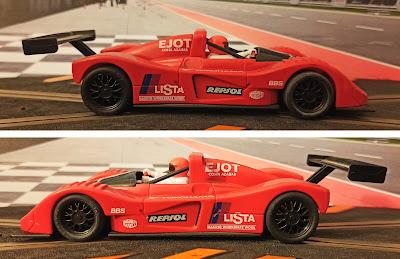 """Ferrari 333 SP Indianapolis """"Lista"""" 1:32"""
