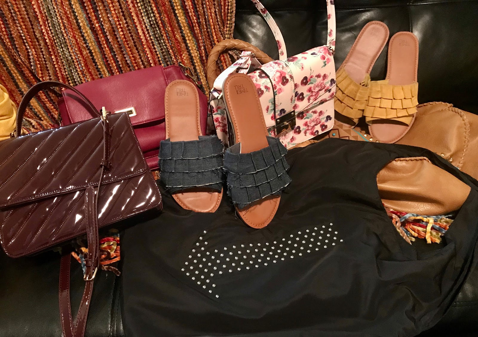 Getting rid of shoes, handbags, and more to donations. Morning Babbles