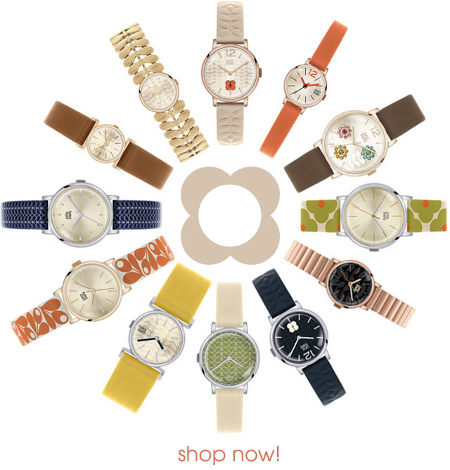 I Love Orla Kiely Watches Now In