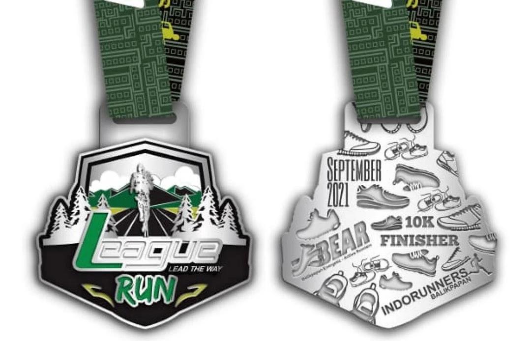 Medali � League Run - Lead The Way Virtual Run • 2021