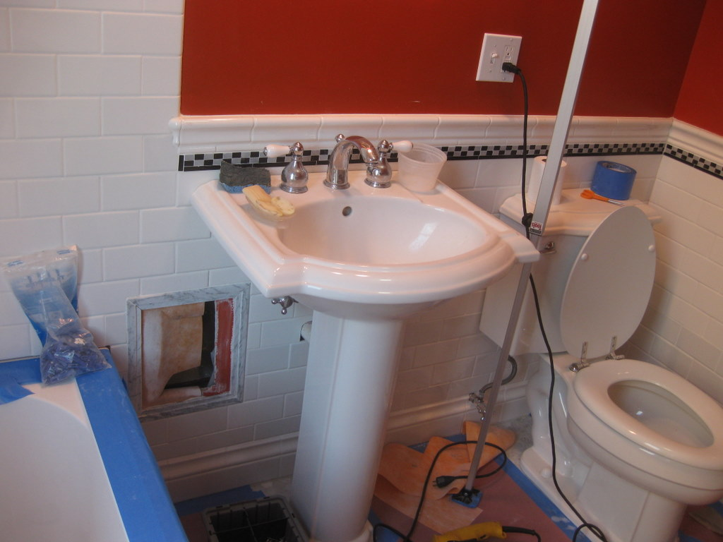 Tooling Up 2nd Floor Bathroom Completed
