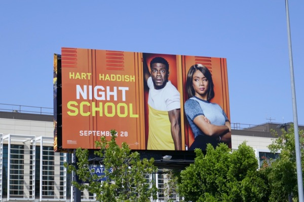 Night School film billboard