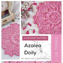 Azalea Doily (Crochet Pattern)