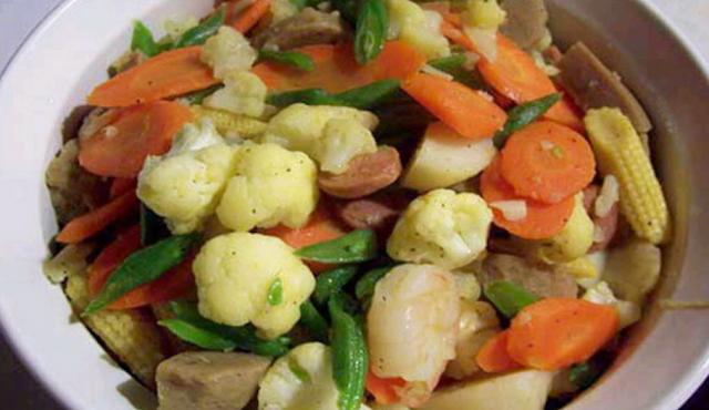 Resepi Meatball goreng Cap Cay