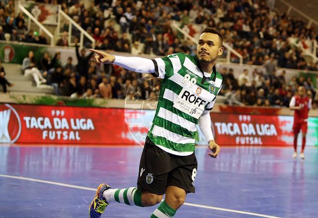 Começou nesta quinta-feira a Taça da Liga de Futsal na qual o Sporting  venceu a primeira edição no ano passado. O Sporting começou o torneio  goleando a ... 518eaec0f4d12