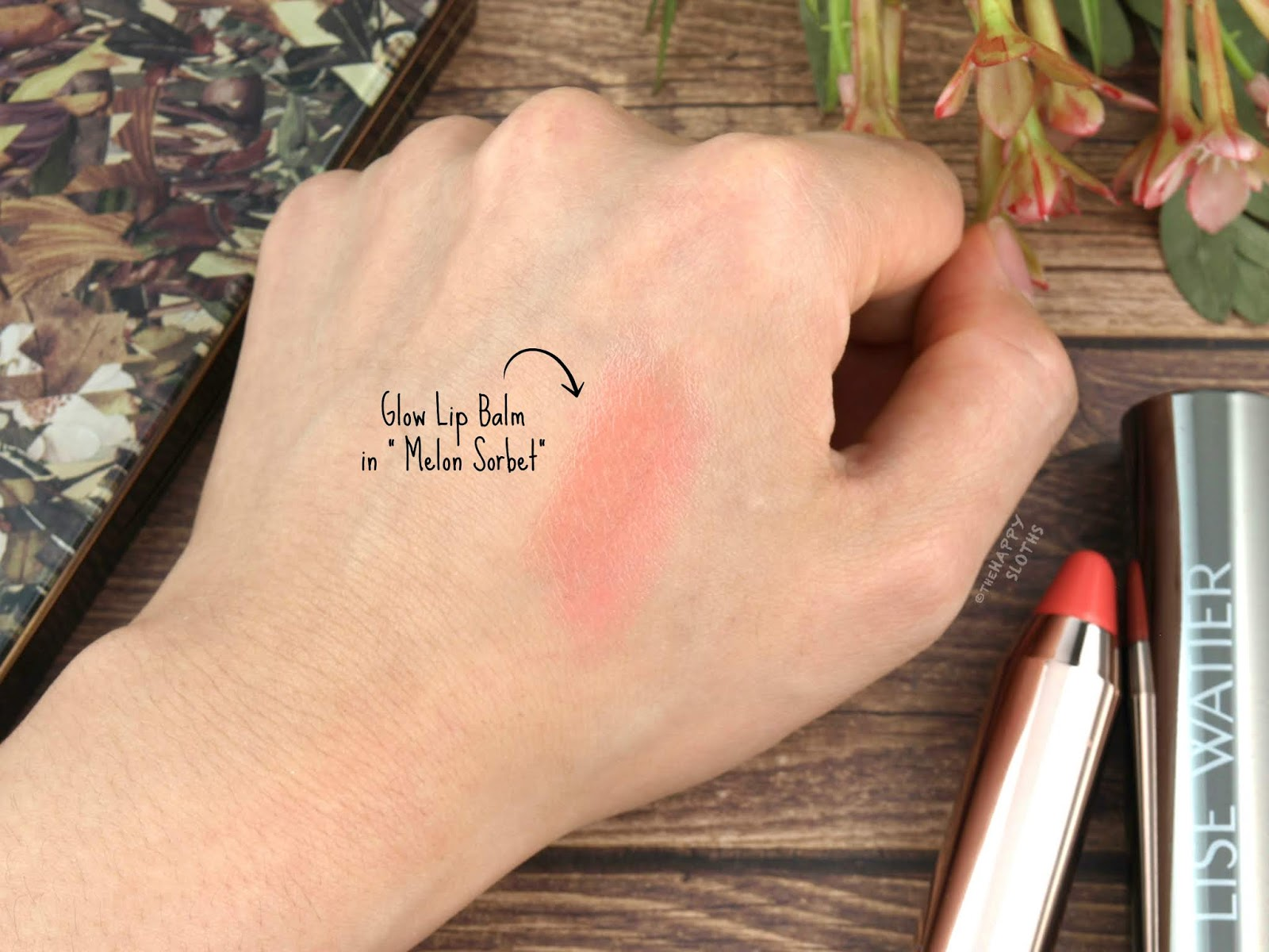 "Lise Watier | Fall 2018 Glow Lip Balm in ""Melon Sorbet"": Review and Swatches"