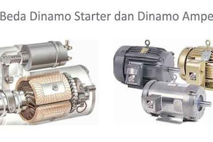 Perbedaan Antara Dinamo Starter dan Dinamo Ampere pada Mobil