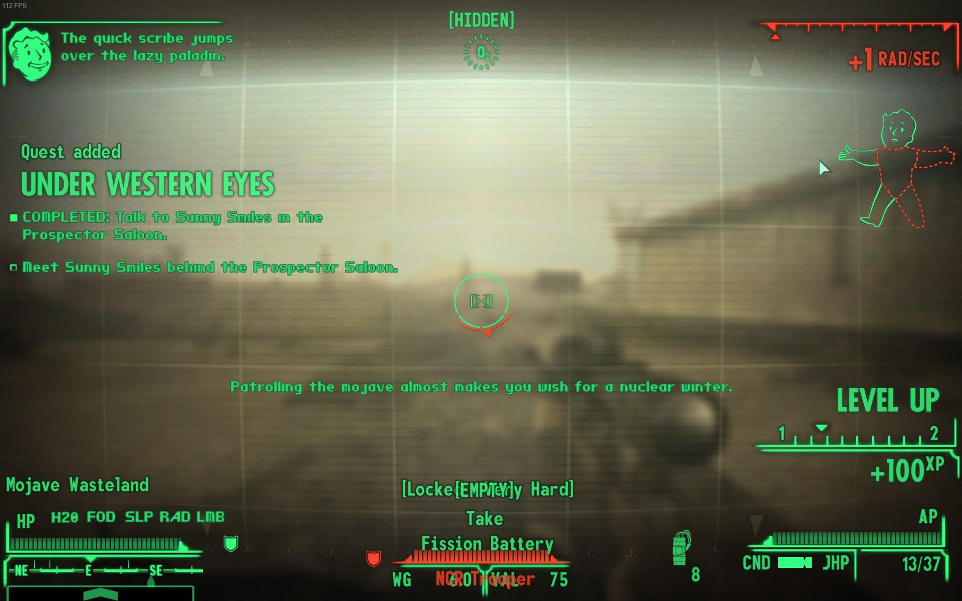 Fallout: New Vegas: Crygreg's HUD Presets MOD